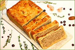 Страстбургский пирог с паштетом из дичи